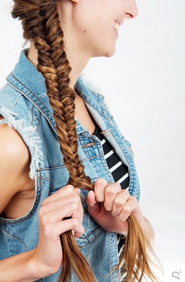 Find out how to style this season's best hairstyle, the herringbone braid.