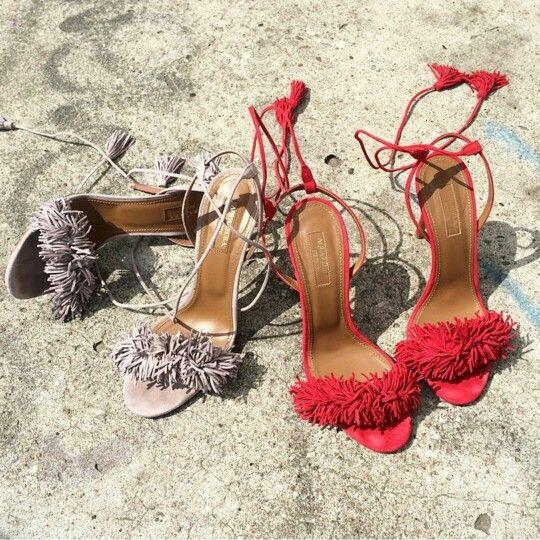 S H O E G A R S M #stylemeluu #shoeaddict #aquazzura #fashioninspo