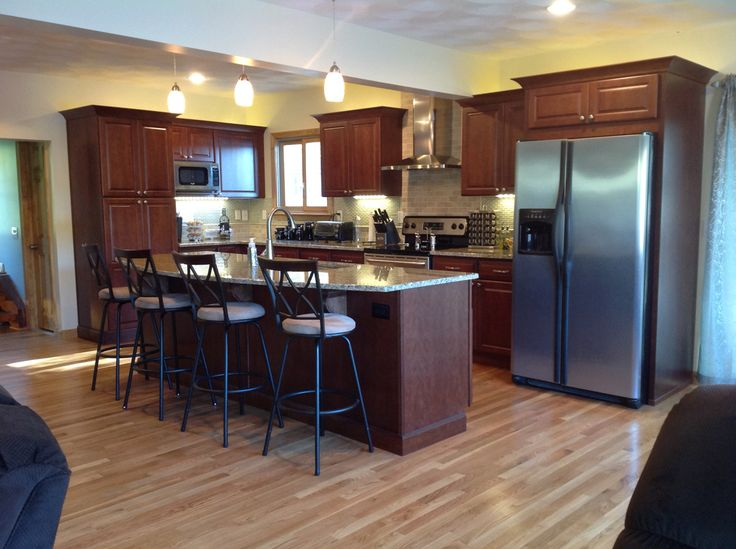A Kitchen Remodel In Exeter, Rhode Island Went From Small And Dated To  Spacious And