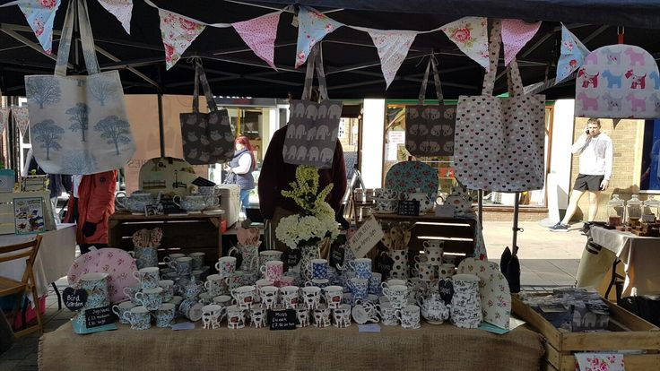 WILLOW BELL at Uttoxeter Makers Market, Staffordshire Fine Bone China, Tea Cosies, Cushions, Bags