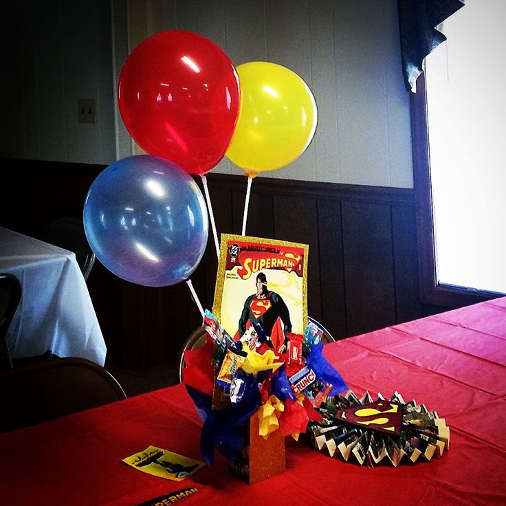 Images about kids comic book birthday party on