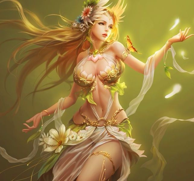 league of angels- sylvia angel of nature