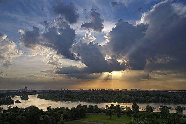 Danube Sunset by Dragan*, via Flickr - absolutely lovely!