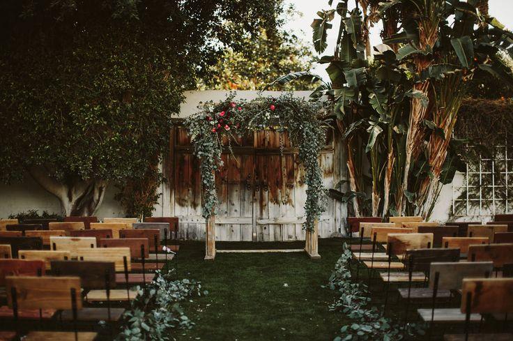 Modern-Boho Palm Springs Wedding: Ashley + Chris