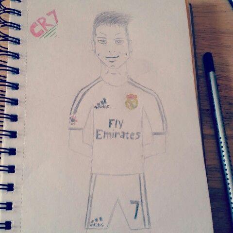 Cristiano Ronaldo cartoon