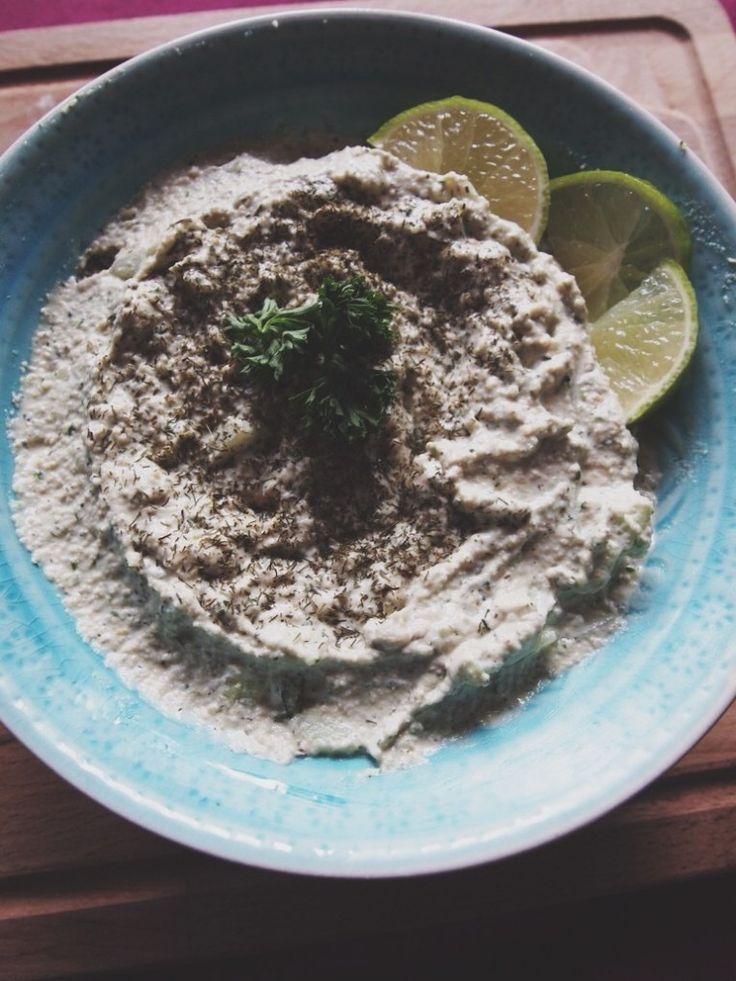 Vegan tzatziki op basis van cashewnoten