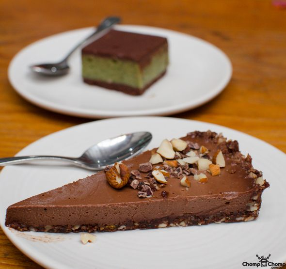 Raw Hazelnut Torte  (The Raw Kitchen)