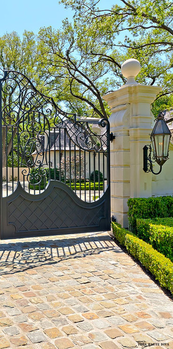 595 best forged gates images on pinterest iron gates for Best driveway gates