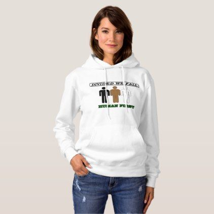 Divided We Fall - Race - Womens Hoodie  $44.90  by HUMAN_FIRST  - custom gift idea