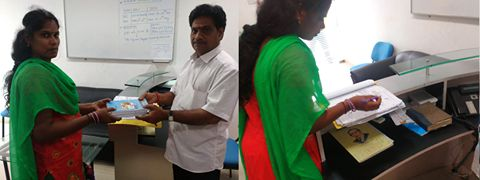 Alagappa Institute of Technology distribute books to student. See more - http://goo.gl/QdHc86