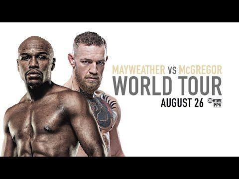 UFC (Ultimate Fighting Championship): Mayweather vs McGregor: Los Angeles Press Conference
