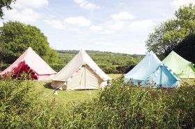 Deluxe Bell Tent Range from Boutique Camping
