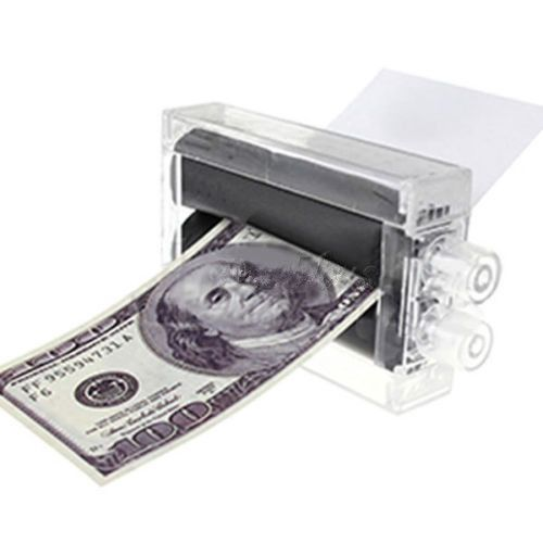 2016 Hot Sale 1PC New Magic Trick Money Printing Machine