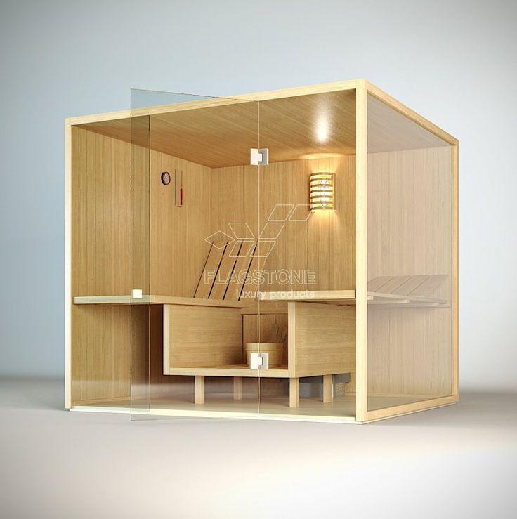 Sauna finlandeza - CLEAR @ FLAGSTONE - smart products