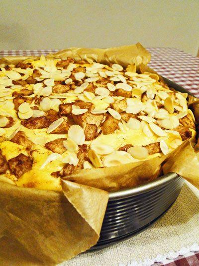 Výtečný jablkovo-tvarohový dort