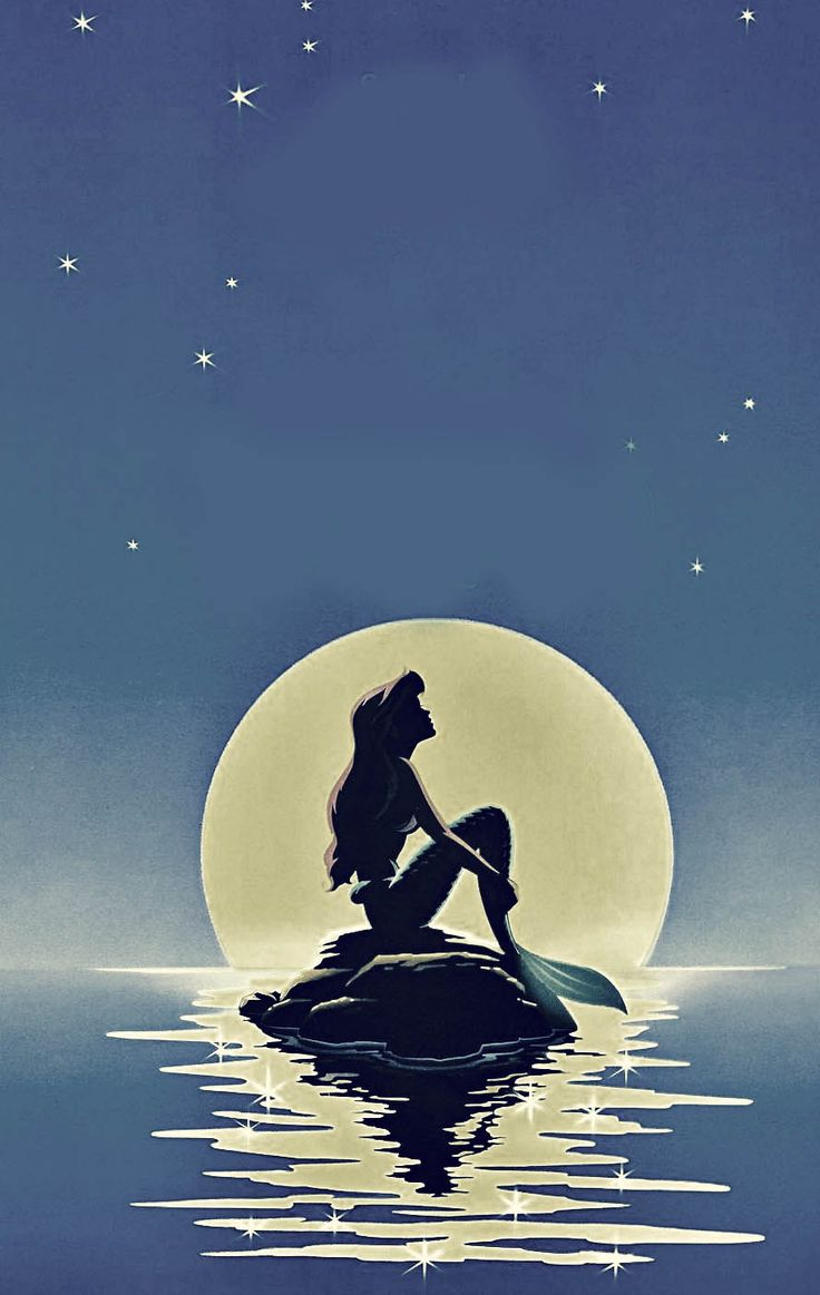 the little mermaid - Possibly paint this for my new room
