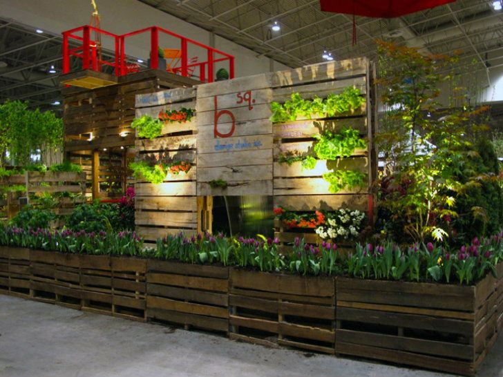 Shipping Pallet Garden Wows Visitors at the Canada Blooms Garden Festival | Inhabitat - Sustainable Design Innovation, Eco Architecture, Green Building