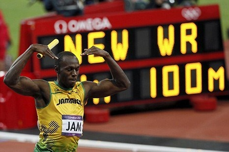 There is a saying that no-one is bigger than their sport – but in the case of double Olympic sprint hat-trick winner Usain Bolt, it is probably wisest to declare a dead heat.