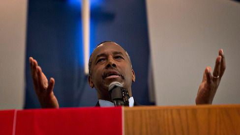 Carson Surges Past Trump in Latest Bloomberg Politics/Des Moines Register Iowa Poll