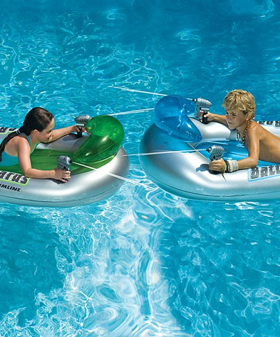 Battleboards Water Squirter Float Set | Daily deals for moms, babies and kids  this would be fun for float downs