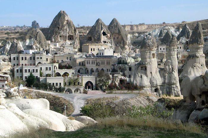Cappadocia region of Turkey