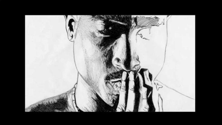 Speed Pen Drawing Of Tupac Shakur Freehand #rap #great #art
