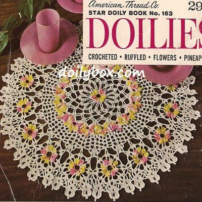 Free Crochet Pattern Comos Floral Doily Free Crochet ...