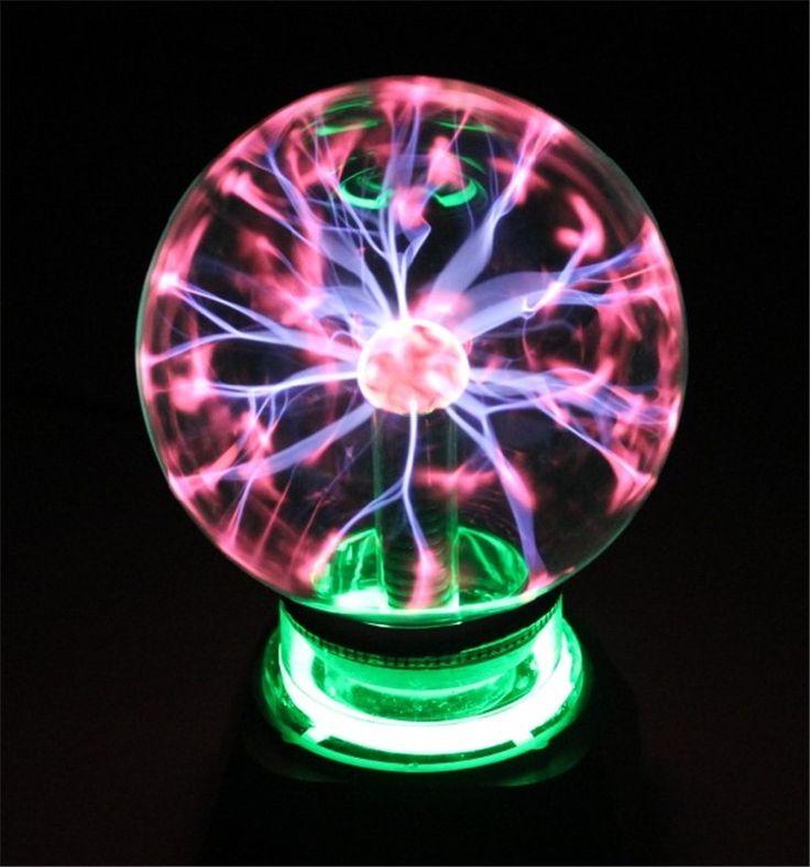 """Plasma Ball Kugel Licht Magie Kristall Und urlaub Lampe 4 5 6 8 """"zoll Magie PLASMA BALL RETRO LICHT kinderzimmer dekor Geschenk Box"""