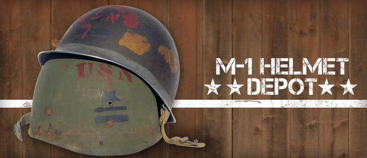 M-1 Helmet Depot — M-1 Helmets