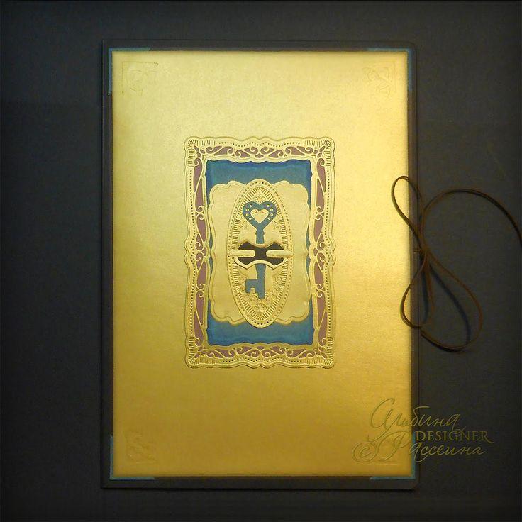 Мужская папка для бумаг и кодекс офицеров в подарок генералу : Альбина Рассеина.
