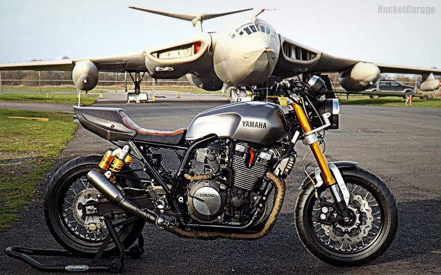 "RocketGarage Cafe Racer: XJR 1300 ""The Aviator"""