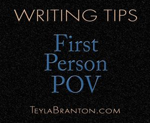 Writing a compelling first person POV.