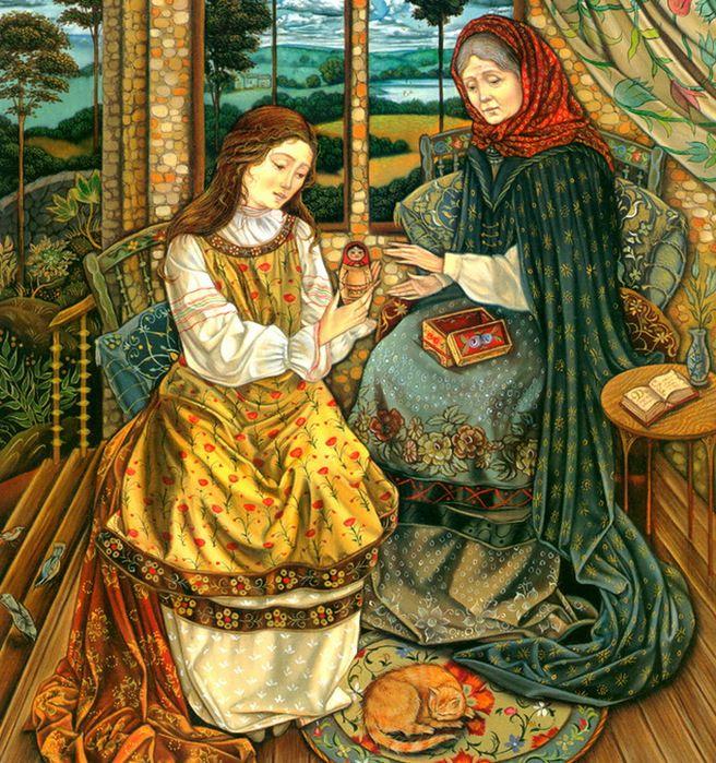 Laurel Long, Vasilisa the Beautiful (Russian Cinderella variation)