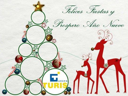 Grupo Turis os desea una Felices Fiestas!!!