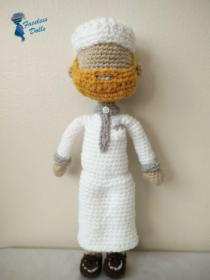 Amigurumi Doll Skirt : 45 best images about Faceless Islamic Amigurumi Crochet ...