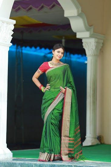 Create a new refreshing look with this bright color ##Narayanapet ##Saree . These saree comes with a beautiful ##Palla  Beautifully ##Designed  ##Kalamkari  ##Blouse accentuates the look of the ##Saree.    Available in variety of colors.  Saree  with running blouse Price: Rs.805/- Wash care:-Normal wash (for trade inquiries please contact our whatsapp no  Single / Retail Customer ...please contact 8099433433 B2B/Resellers/Bulk buyers...please contact 8801302000) .