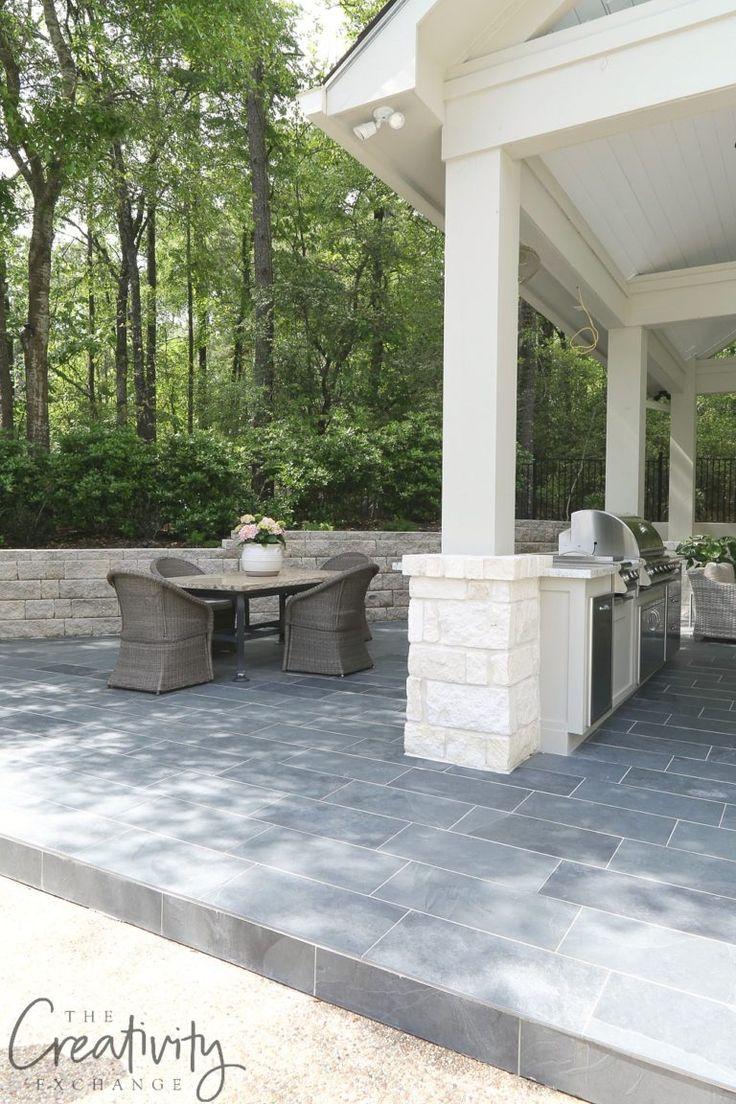 Freilandküche und Pool House Projekt   – Erin Ruf