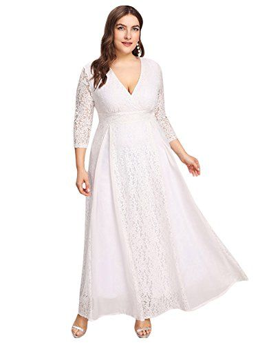 d734c06d142 Beautiful ESPRLIA ESPRLIA Women s Plus Size High Waist Lace Overlay Evening  Maxi Dress womens dresses.   35.99  allshoppingideas.ga from top store