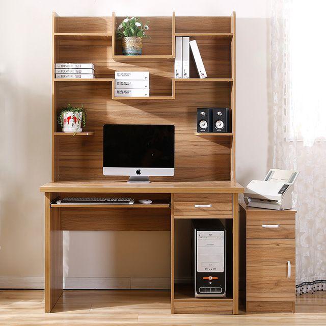 Cien millones de escritorio en casa escritorio de la computadora estilo combinación escritorio estantería escritorio estantería escritorio moderno de mesas de oficina