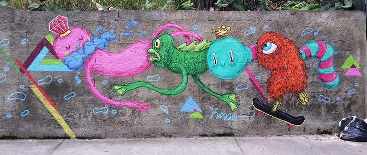 Av. Nove de Julho - SP #streetart #urbanart #spray #graffiti #wall
