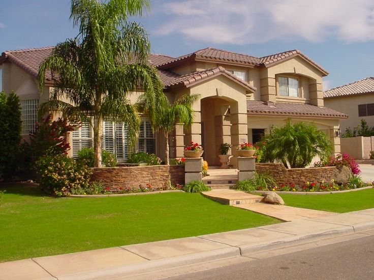Landscaping Ideas For Front Yard In Arizona : Images about az front yard on deserts