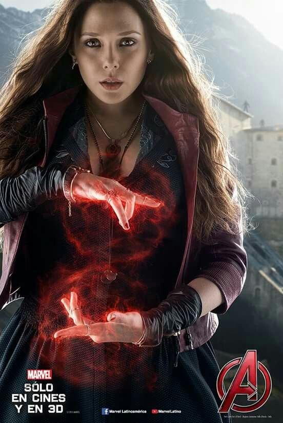 Scarlet witch oficial poster