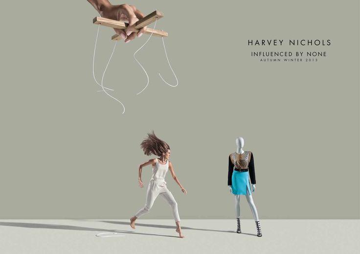 Harvey Nichols: Jump   Ads of the World™