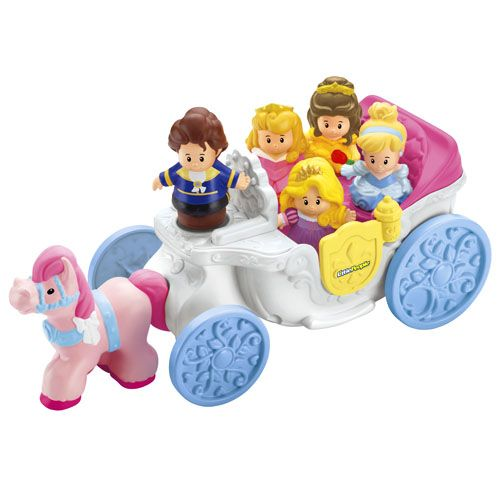 Little People® Disney Princess Royal Coach - Shop Little People Toddler Toys | Fisher-Price