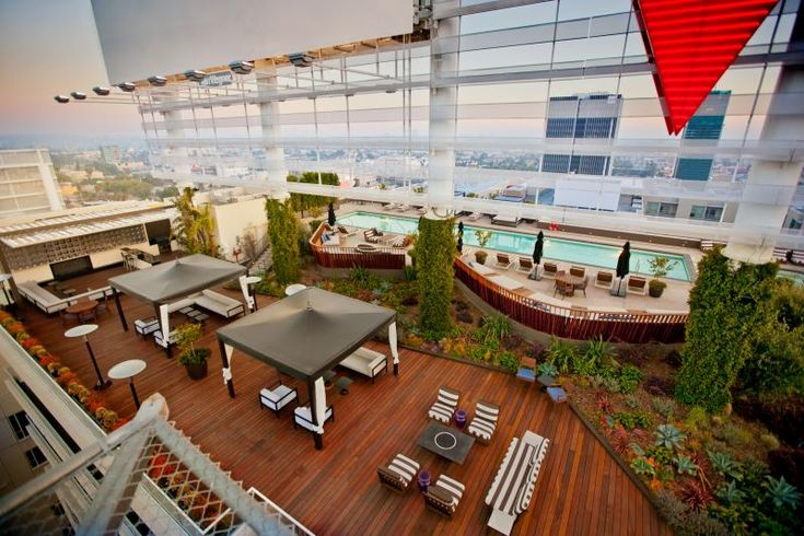 LA's Best Rooftop Park | Amenities | Hollywood Penthouses | Hotel Residences Los Angeles | Luxury Condos | The Residences At W Hollywood