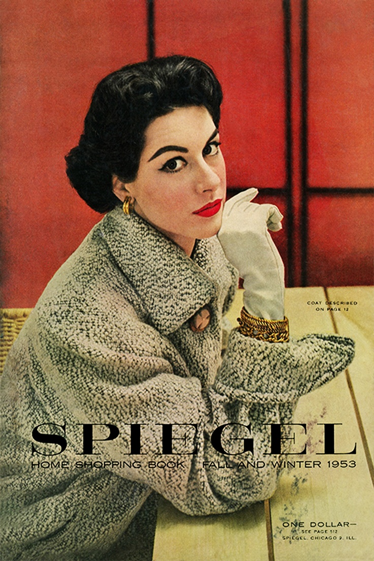 1953 spiegel catalog cover from the archives pinterest for Spiegel cover