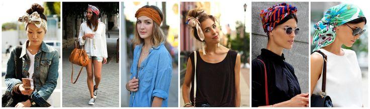 На пляж как на подиум: летние аксессуары для волос