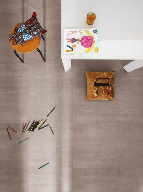 Concept-laatat tuovat trendikkään sementtisen ilmeen lattia- ja seinäpinnoille. Värisilmä, www varisilma.fi http://kauppa.varisilma.fi/laatat/lattialaatat/concept/ #laatta #lattia