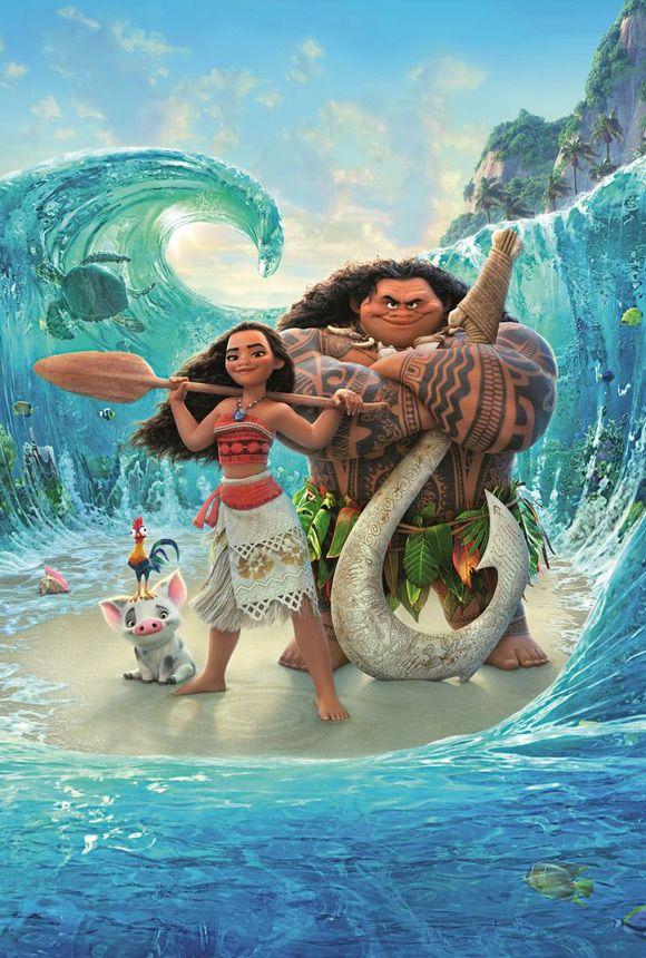 Walt Disney Pictures - Oceania [Original: Moana] 2016