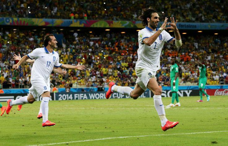 Σαμαράς σε έκσταση! #ethnikiomada #fifaworldcup #brazil2014
